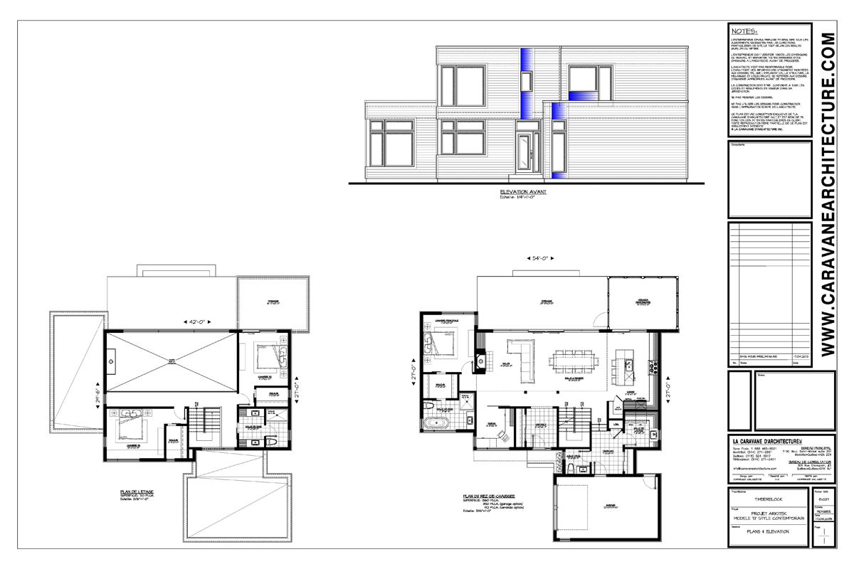 La s rie arkitek par timber block for Plan arkitek